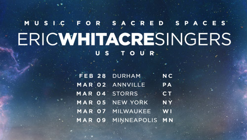 Eric Whitacre Singers US Tour