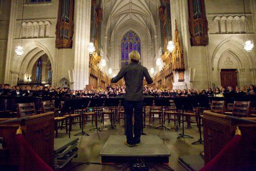 Duke Chapel, November 2011