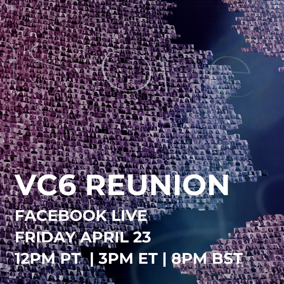 Hey gang, let's celebrate! Come join me LIVE as we mark the one year anniversary of the launch of VC6.
