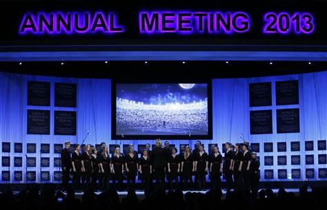 Davos World Economic Forum, January 2013