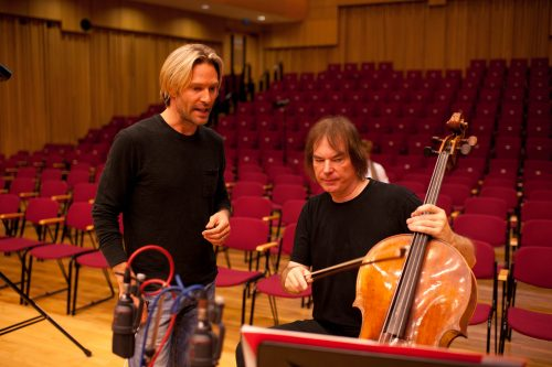 Recording The River Cam with Julian Lloyd Webber, 2011