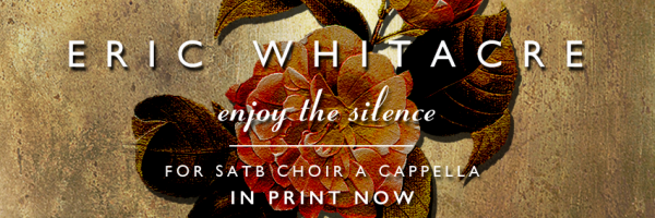 Enjoy the Silence (SATB) Now in Print