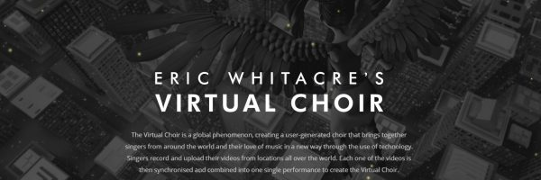 Check out the new and updated Virtual Choir section of the site...