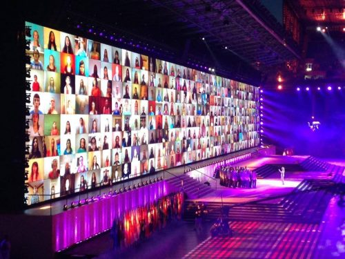 Eric Whitacre's Virtual Youth Choir at the Glasgow 2014 Commonwealth Games