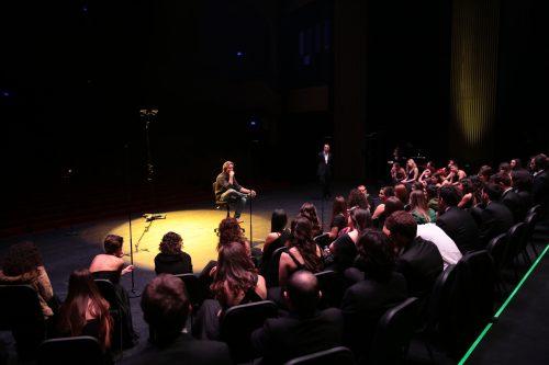 Rehearsal, Zorlu Center, Istanbul, 8 November 2014