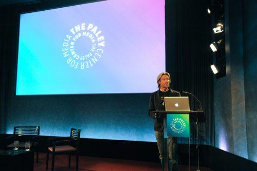 Launch of Virtual Choir 2: Sleep at the Paley Center, New York, 2011