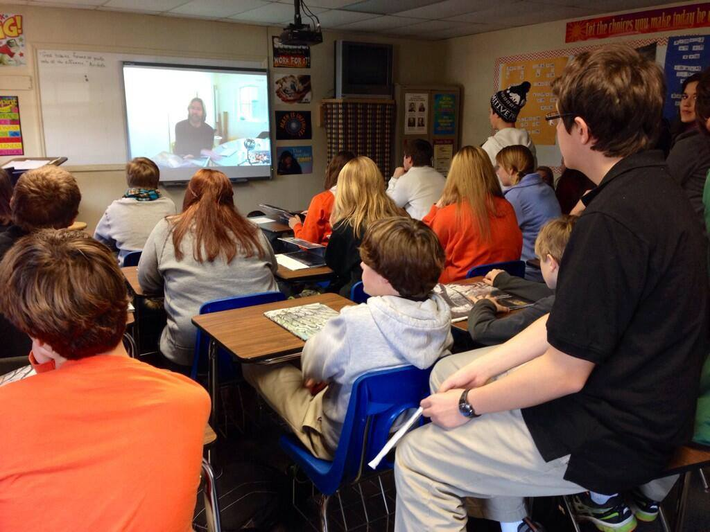 Skype in the Classroom Nov 2013