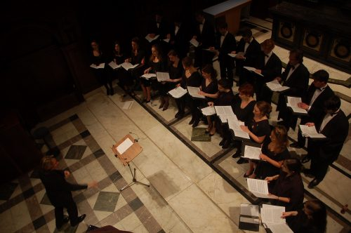 Choir of Sidney Sussex, Cambridge, UK