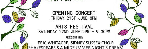 Sidney Sussex Arts Festival
